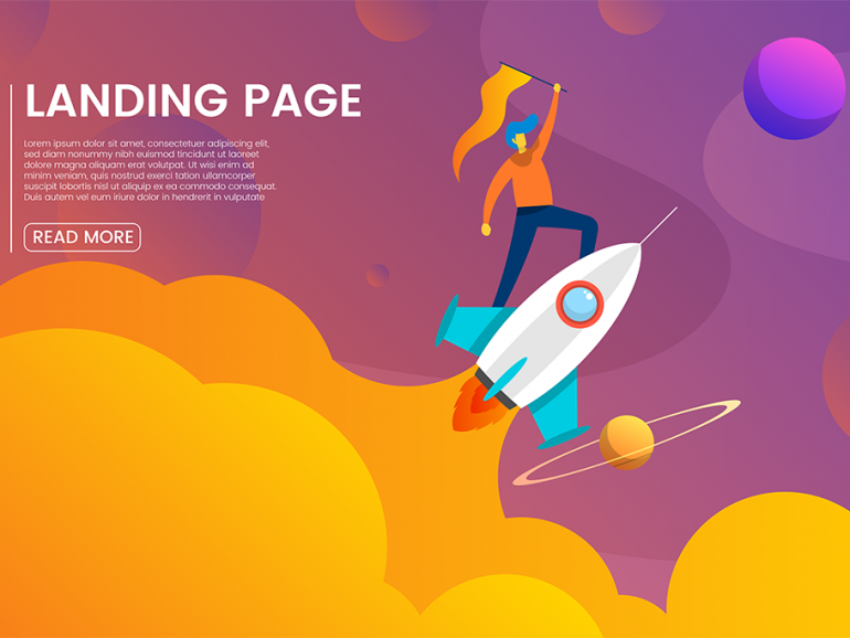 How to design a powerful landing page